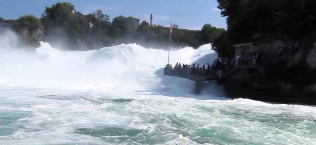 Rheinau falls