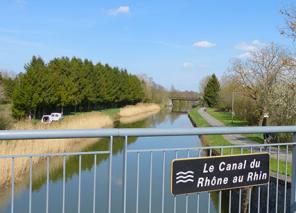Rhone au rhin canal