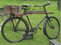 WW1 Cycle Corps Bike