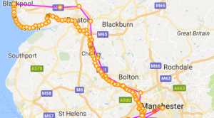 Manchester to Blackpool